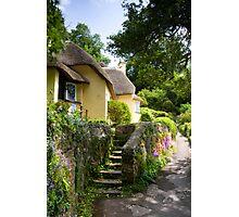 Selworthy Village, Exmoor Photographic Print