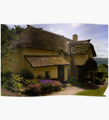 Periwinkle Cottage,Selworthy Exmoor Poster
