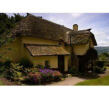 Periwinkle Cottage,Selworthy Exmoor Photographic Print