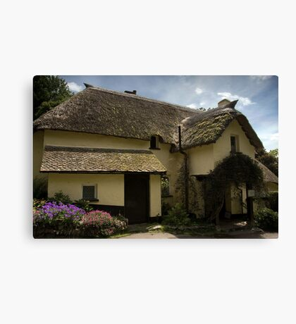 Selworthy Afternoon Cream Tea Canvas Print