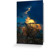 before storm Greeting Card