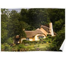 Selworthy Village Shop, Exmoor Poster