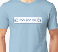 Thumbs Up for Rock and Roll Unisex T-Shirt