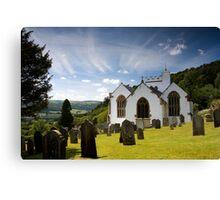 Selworthy Village Church, Exmoor Canvas Print