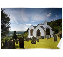 Selworthy Village Church, Exmoor Poster