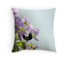 Violets are Sweet Throw Pillow