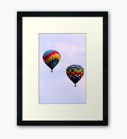 Colorful Giants Framed Print