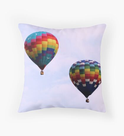 Colorful Giants Throw Pillow