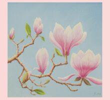 Magnolias in Bloom, Wisley Gardens, Surrey One Piece - Long Sleeve
