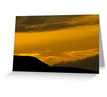 Ross-shire Sunset Greeting Card
