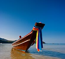 Thong Nai Pan Yai bay fishing boat. by Neil Carey