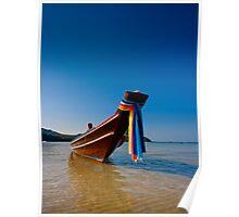 Thong Nai Pan Yai bay fishing boat. Poster