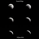 Lunar Eclipse by Saif Zahid