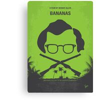 No375 My Bananas minimal movie poster Canvas Print