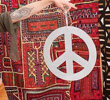 Peace Sign by Elena Ray