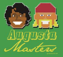 Augusta Masters (yellow text) by Groatsworth