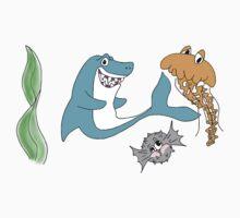 Shark and Co One Piece - Long Sleeve