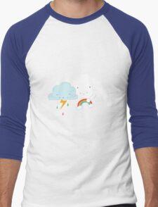 Get well soon little cloud Men's Baseball ¾ T-Shirt