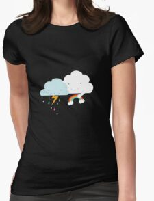 Get well soon little cloud Womens Fitted T-Shirt