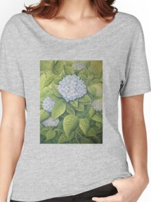 Hydrangeas at Lanhydrock, Cornwall Women's Relaxed Fit T-Shirt