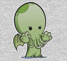 Baby Cthulhu  One Piece - Long Sleeve
