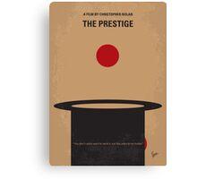 No381 My The Prestige minimal movie poster Canvas Print