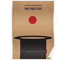 No381 My The Prestige minimal movie poster Poster