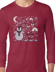 Penguin Small  Long Sleeve T-Shirt