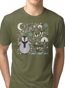 Penguin Small  Tri-blend T-Shirt