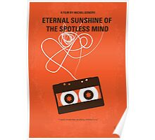 No384 My Eternal Sunshine of the Spotless Mind minimal movie poster Poster