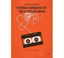 No384 My Eternal Sunshine of the Spotless Mind minimal movie poster Photographic Print