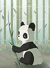 Panda bear cub by Tunnelfrog