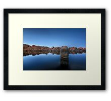 Away From The Crowd Framed Print