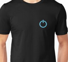 Power Up logo! - Blue Unisex T-Shirt