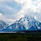 Signal Mountain, Grand Tetons, Wyoming by Sue Ratcliffe