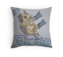 Welcome BABY BOY! Throw Pillow