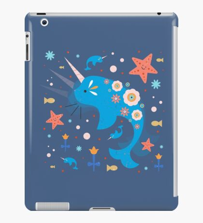 Narwhal & Babies iPad Case/Skin