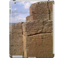 Rocks at the Giant's Causeway, Northern Ireland iPad Case/Skin