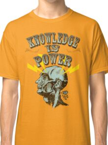 Knowledge is Power Classic T-Shirt