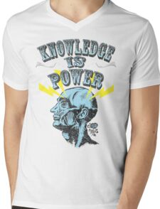 Knowledge is Power Mens V-Neck T-Shirt