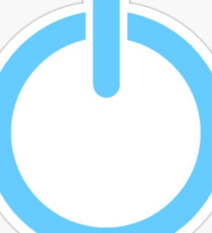 Power Up! - Blue Sticker
