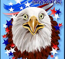 Grand Ol' Eagle-Independence Day by Lotacats