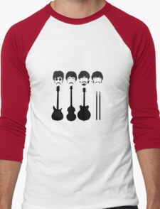 The Beatles and their instruments. T-Shirt