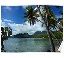 Bora Bora Dreamtime Poster