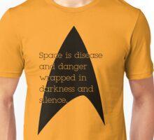 Star Trek - Disease and Danger Unisex T-Shirt