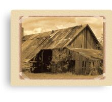 Timeworn Photo Albums and Golden Days Canvas Print