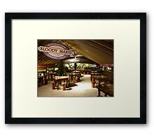 Bora Bora 'Bloody Marys' Framed Print