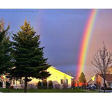 Now We Know Where the Rainbow Ends Photographic Print