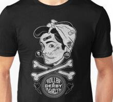 Zombie Roller Derby Girls Unisex T-Shirt