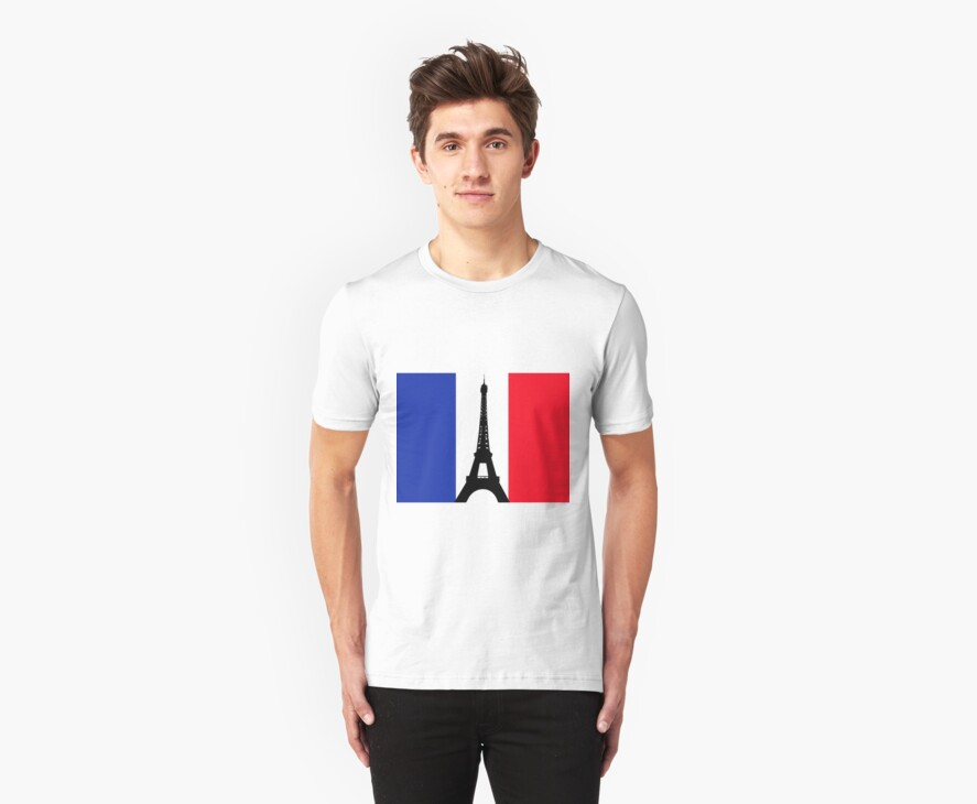 Eiffel Tower T-Shirt by Robotor